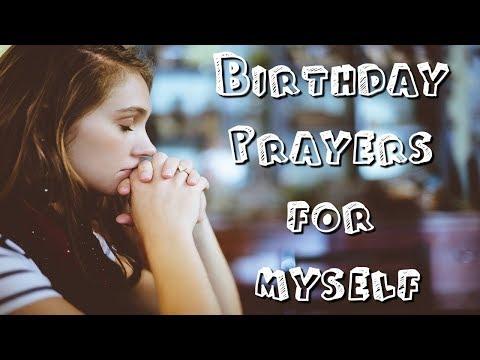 Happy Birthday Prayers To Myself