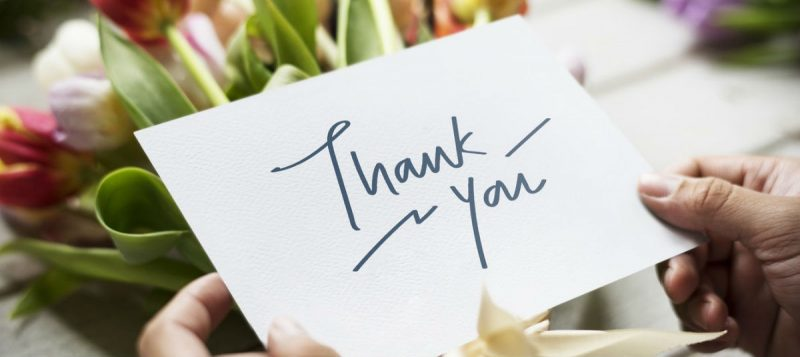 Thank You Messages To Customers