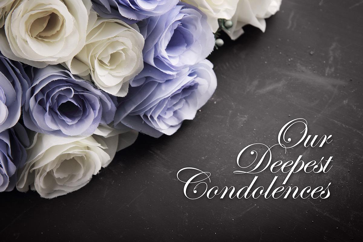 An to ex condolences sending Condolences &