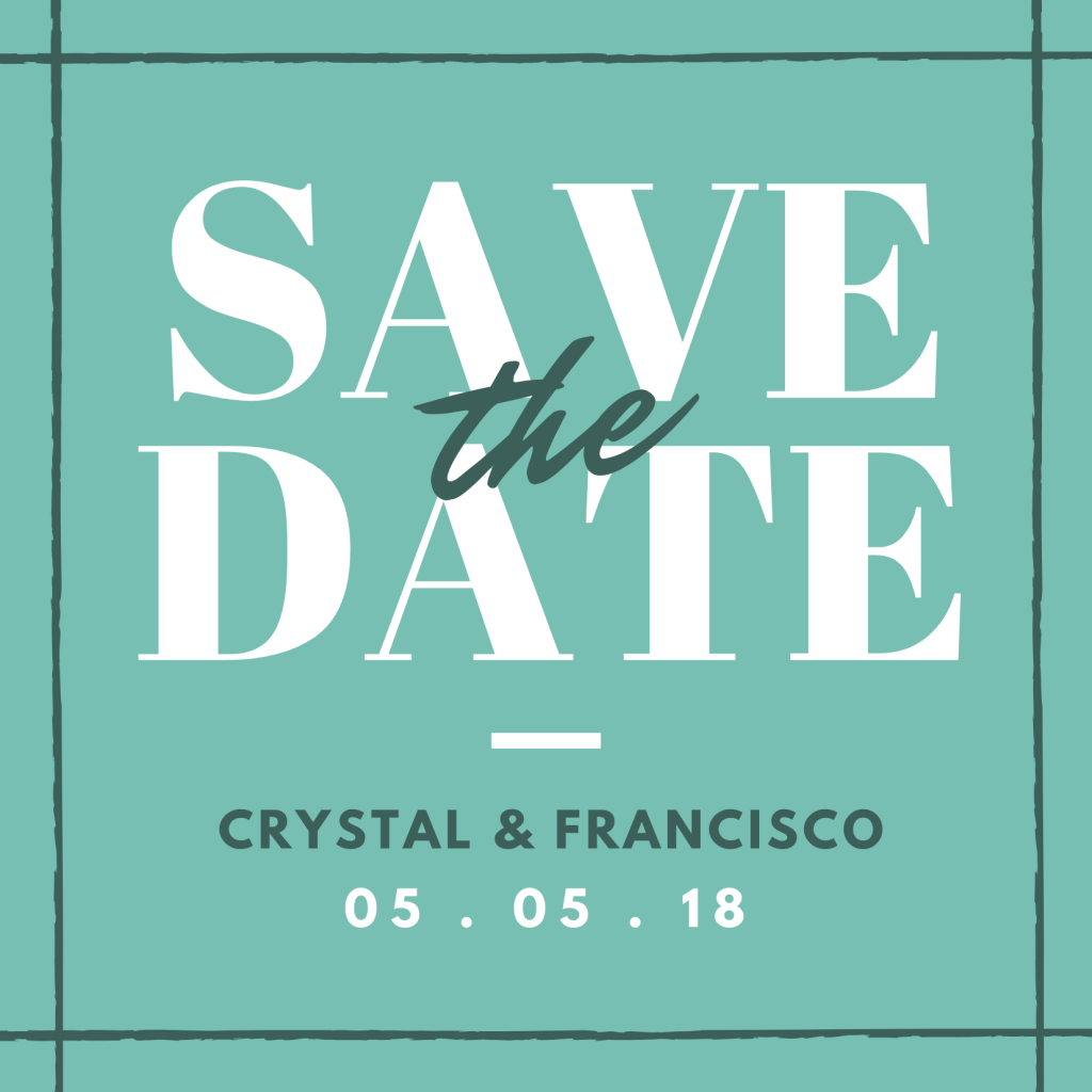 Save the Date Card Design 7