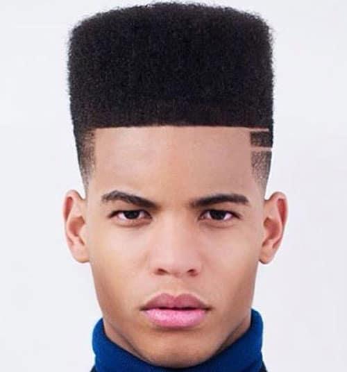 Flat Top - Haircut for Black Men