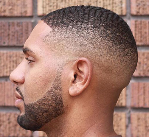 Skin Fade with Waves - Haircut for Black Men