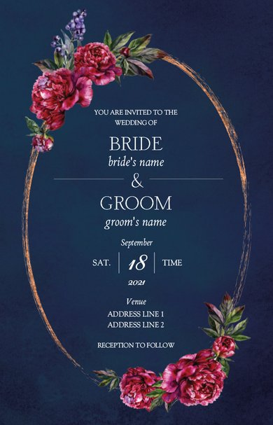 Wedding Invitation Card Sample 51