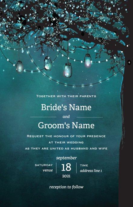 Wedding Invitation Card Sample 41