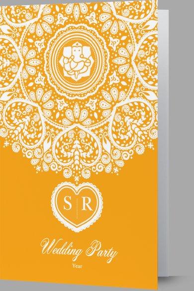 Wedding Invitation Card Sample 40