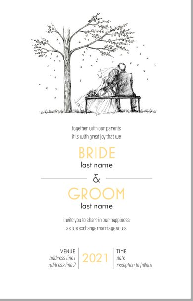 Wedding Invitation Card Sample 37