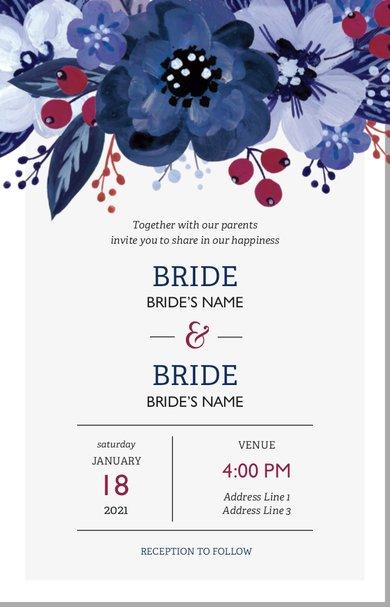 Wedding Invitation Card Sample 36