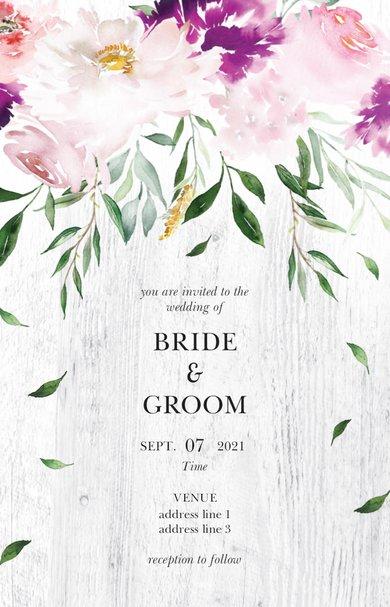 Wedding Invitation Card Sample 35