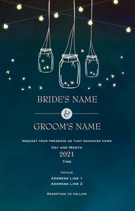 Wedding Invitation Card Sample 32