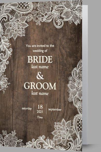 Wedding Invitation Card Sample 30