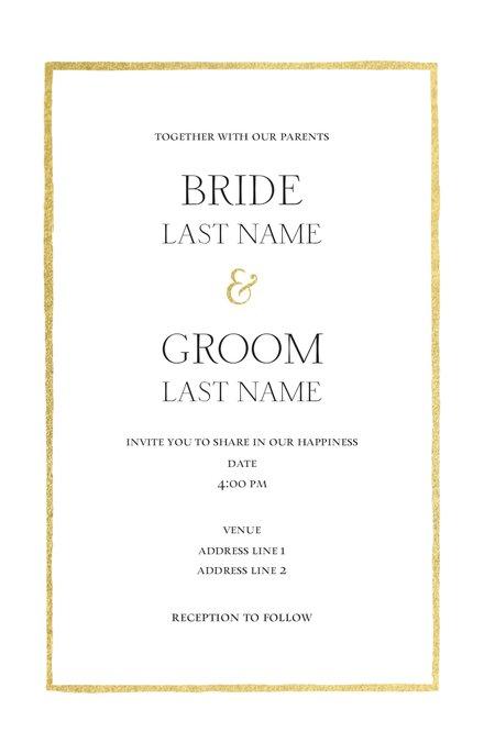 Wedding Invitation Card Sample 28