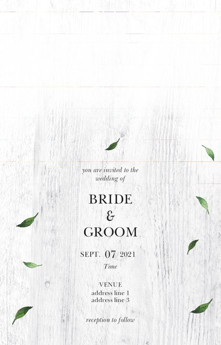 Wedding Invitation Card Sample 27
