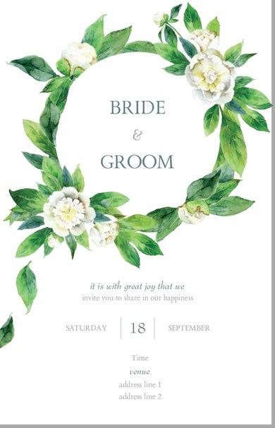 Wedding Invitation Card Sample 24