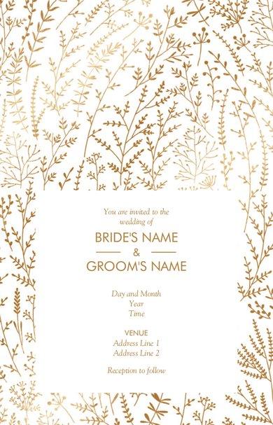 Wedding Invitation Card Sample 21