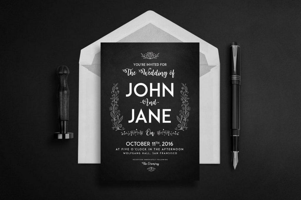 Wedding Invitation Card Sample 15