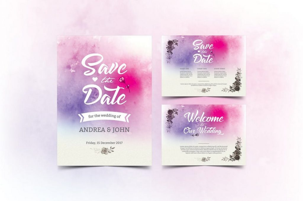 Wedding Invitation Card Sample 14