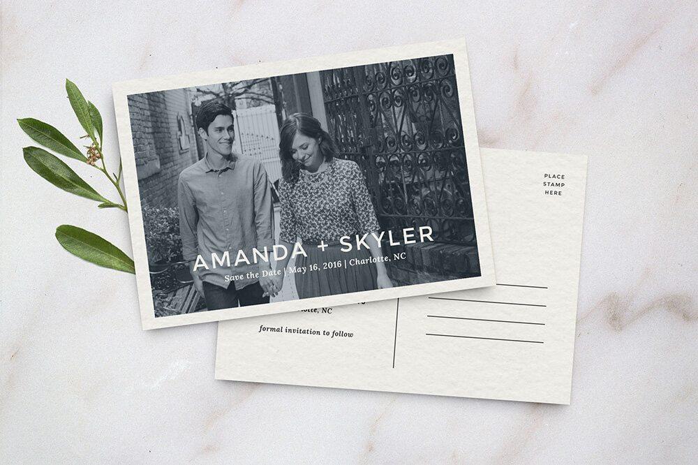 Wedding Invitation Card Sample 6