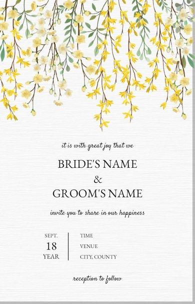 Wedding Invitation Card Sample 47